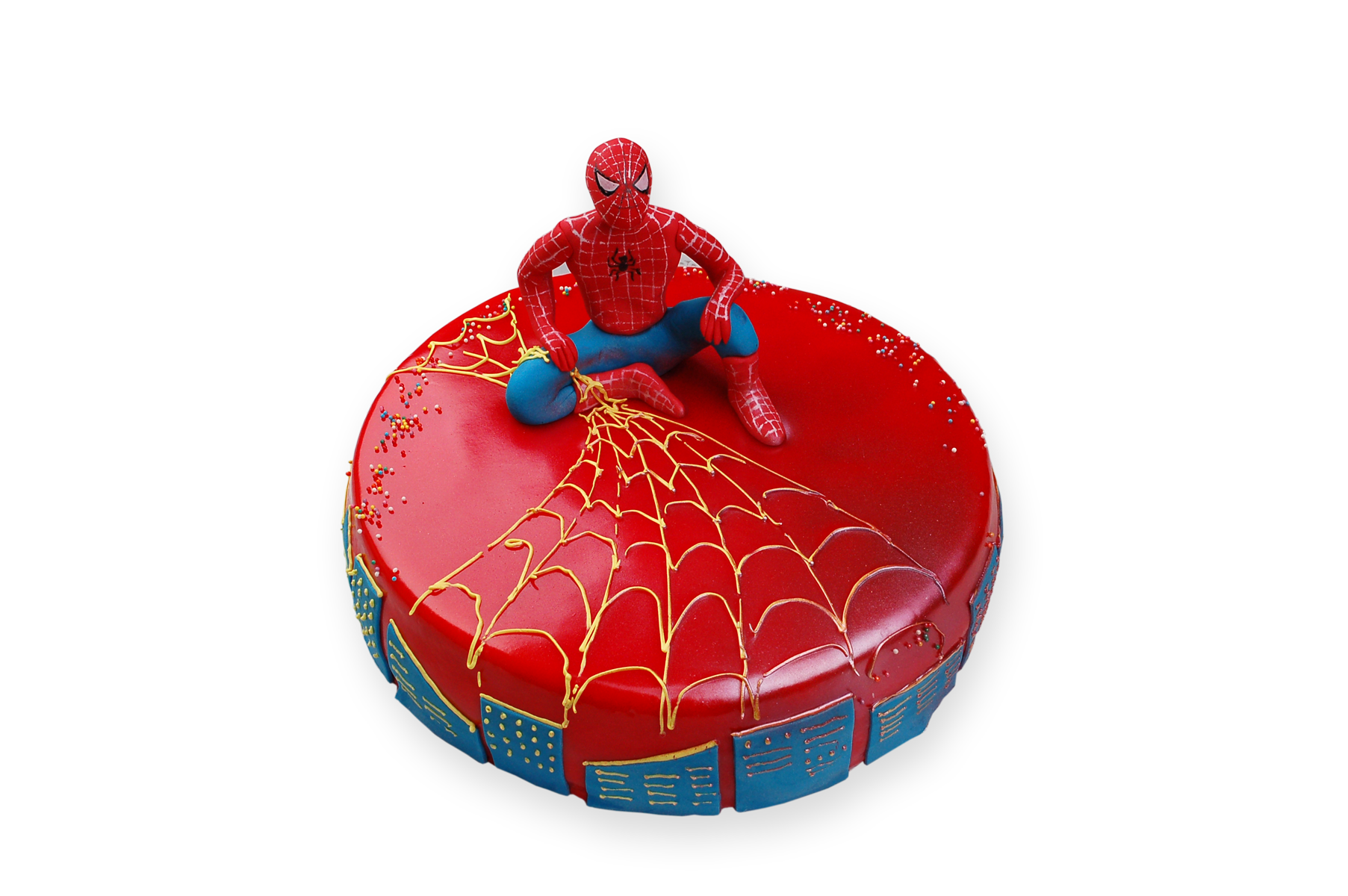 Торт Заказной Человек Паук